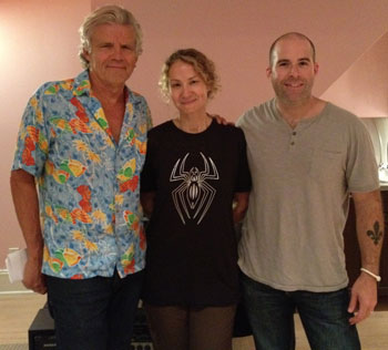Ernest Thompson, Joan Osborne and Joe Deleault (courtesy photo)