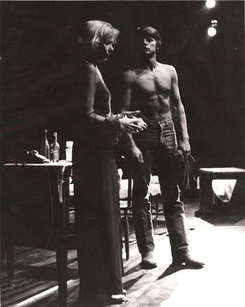 Eva Marie Saint and Ernest-Thompson in A STREETCAR NAMED DESIRE