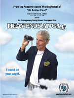 Heavenly Angle Poster