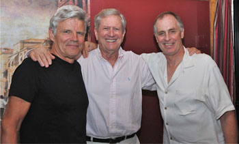 Ernest Thompson, Keith Carradine and Michael Murphy