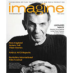 Imagine Magazine Cover May 2014