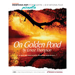 Montana Repertory Theatre 2018 On Golden Pond brochure