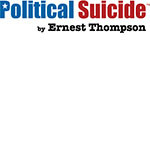 Political Suicide by Ernest Thompson logo