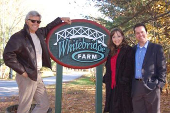 Whitebridge Farm Productions' Partners, Ernest Thompson, Lori Gigliotti Murphy and Morgan Murphy (courtesy photo)