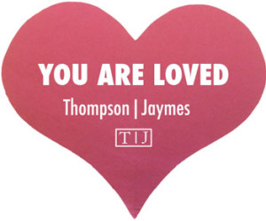 You Are Loved by Thompson|Jaymes