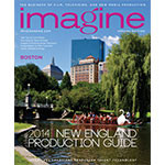 Imagine Magazine Cover March/April 2014