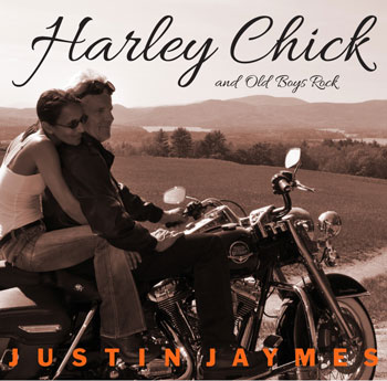 Harley Chick and Old Boys Rock