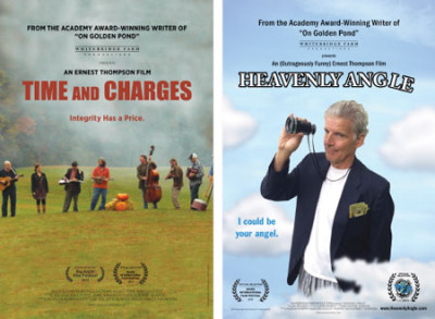 Time and Charges and Heavenly Angle posters